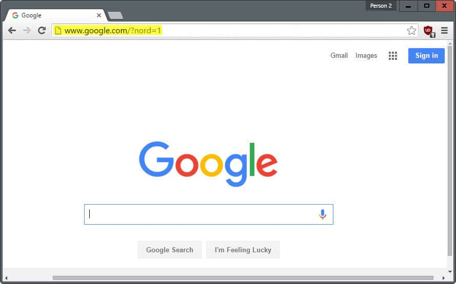 Google HTTP Search, yes, it is still possible - gHacks