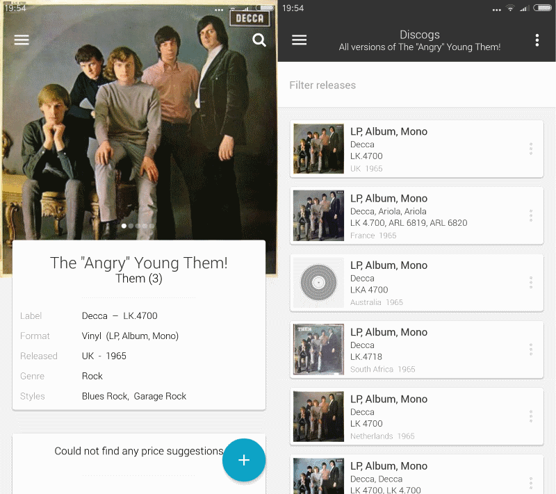 discogs-market-android Discogs app for Android is out