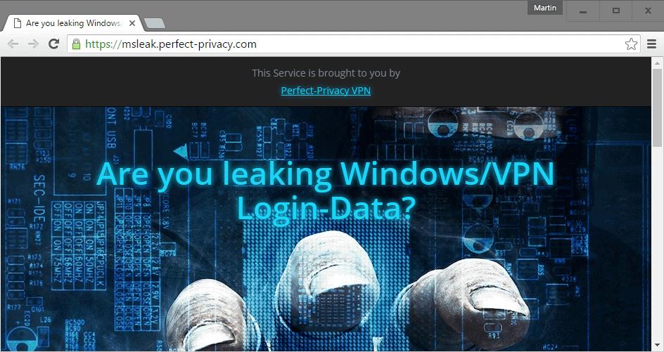 microsoft account leak
