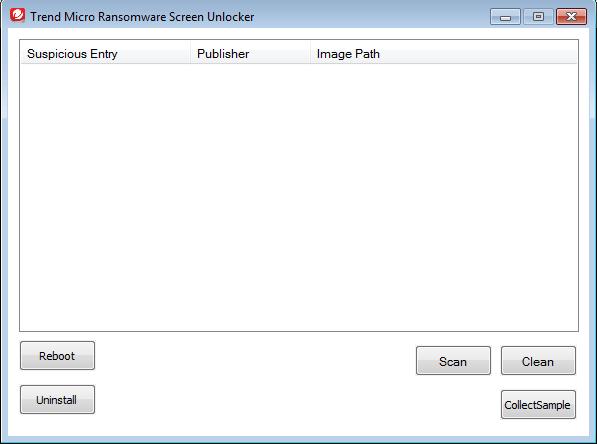 trendmicro ransomware screen unlocker tool