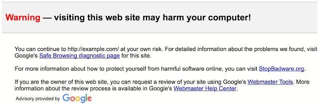 unsafe links gmail