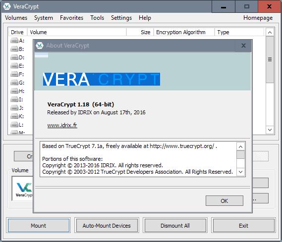 veracrypt 1.18