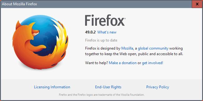 firefox 49.0.2