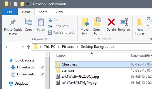 desktop-backgrounds Lightweight Powershell Windows Desktop Background Rotator script