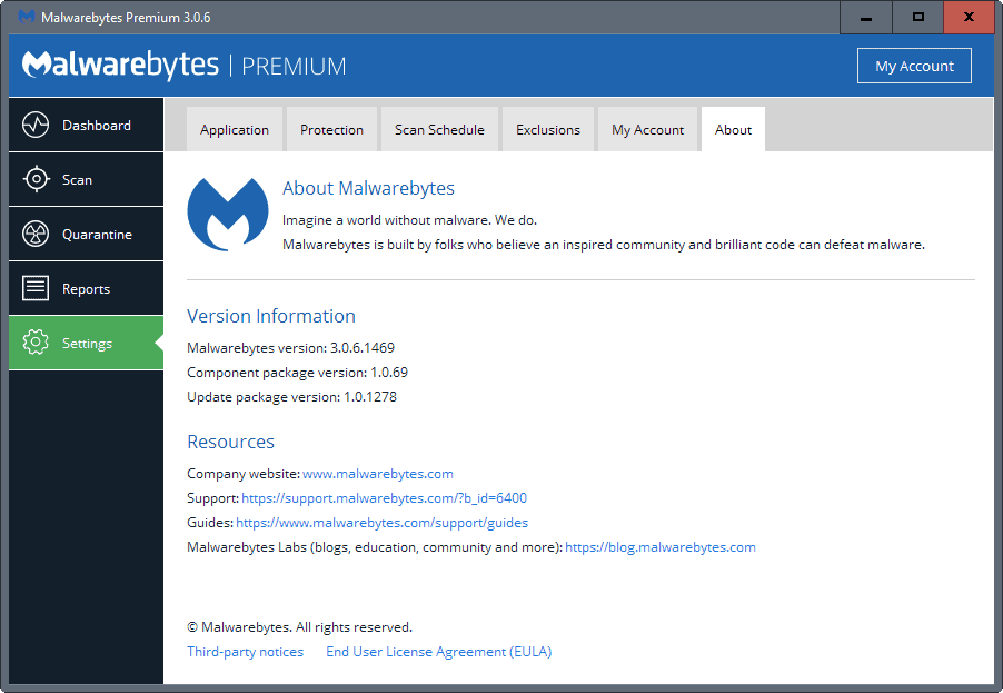 malwarebytes-3-0-6-component-1-0-69 Malwarebytes 3.0.6 update fixes issues