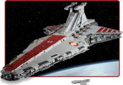 8-foot long Star Wars Attack Cruiser