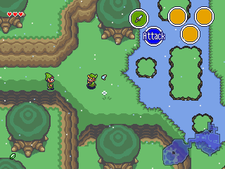 zelda ocarina of time 2d