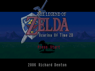 ocarina of time 2d zelda