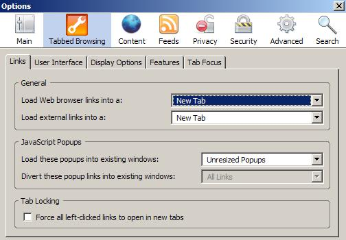 Configure tabbed browsing in Firefox - gHacks Tech News