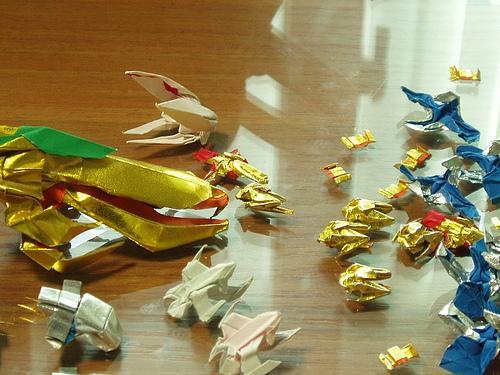 starcraft origami 1