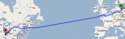 swim across the Atlantic Ocean