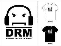 anti-drm t-shirt