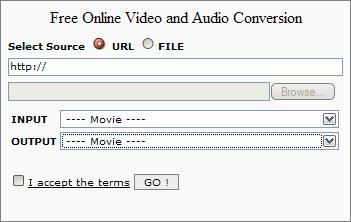 audio and video converter