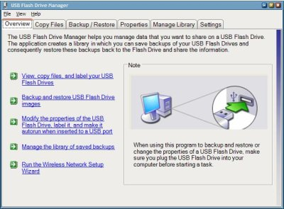 usb flash drive manager
