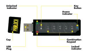 flash padlock