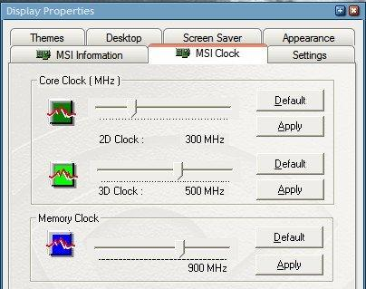 check if graphics card is overclocked