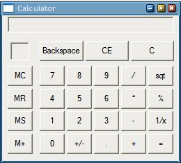 windows calculator before