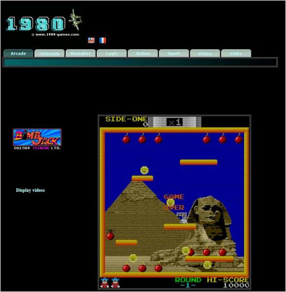 online arcade games