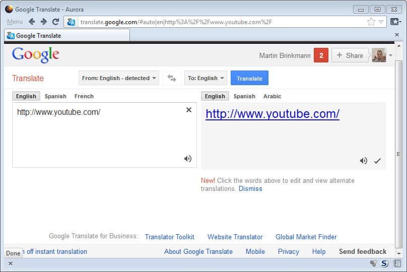 Google Proxy - gHacks Tech News