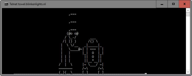 star wars ascii