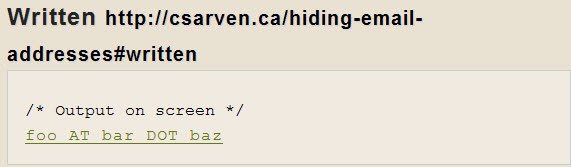 hide-email-address