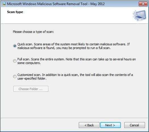 microsoft windows malicious software removal tool