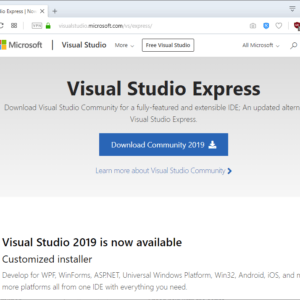 visual studio express download
