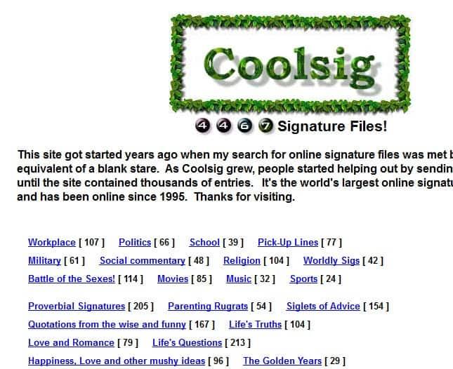 cool signatures