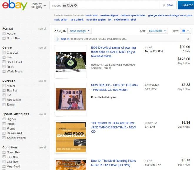 ebay cd buy