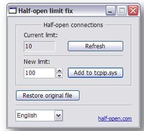 half-open limit fix