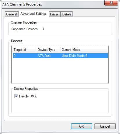 check hard drive mode
