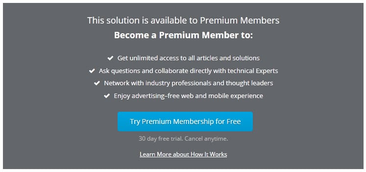 experts-exchange.com premium