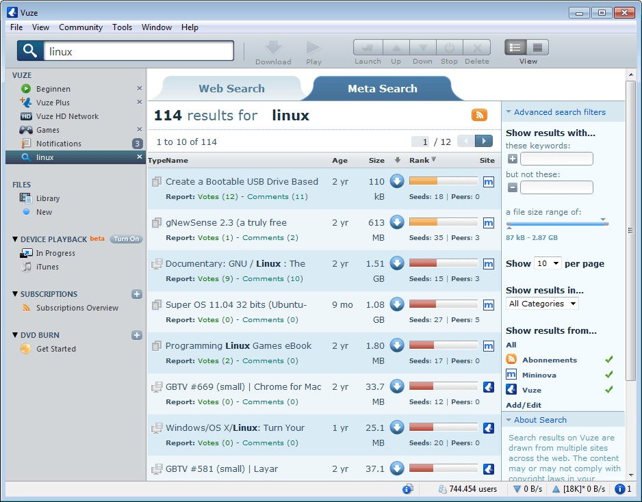 Azureus 2 5 Is Out Ghacks Tech News