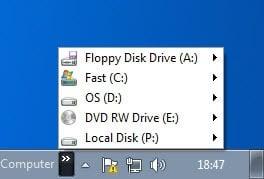 my computer taskbar