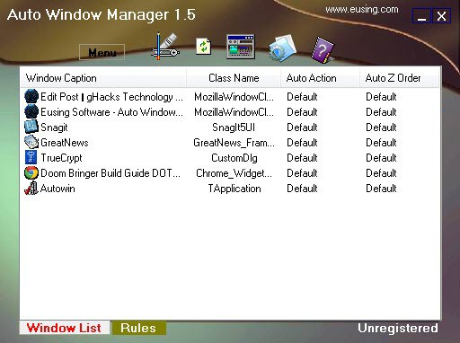 auto window manager