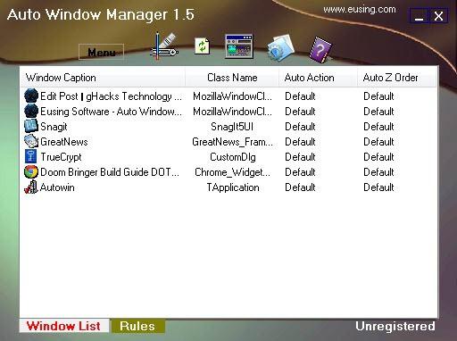 auto window manager