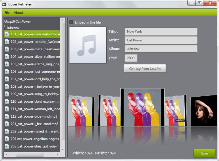 Free Album Art Cover Downloader - gHacks Tech News