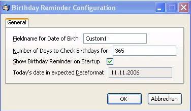 thunderbird birthday reminder