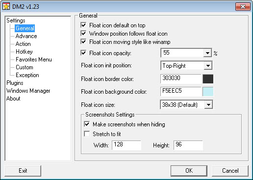 dm2 windows enhancement