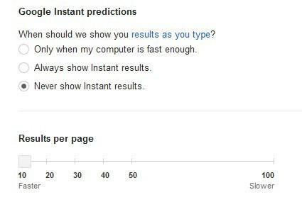 google results per page