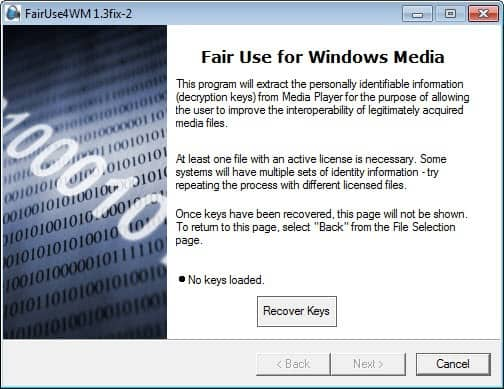 fairuse4wm v2.0