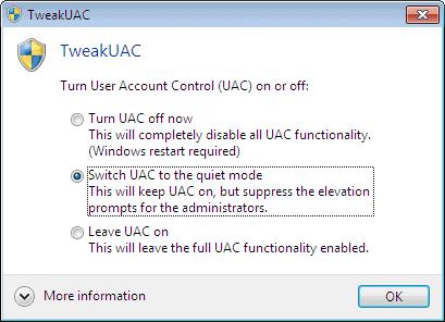 TWEAK UAC