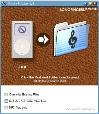 copy music from ipod to pc