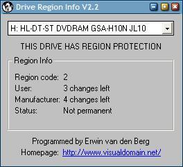 drive region