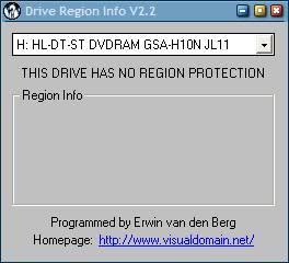 dvd drive region free