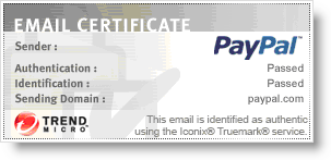 email certificate