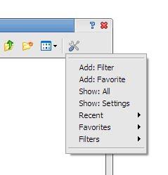 File filter list