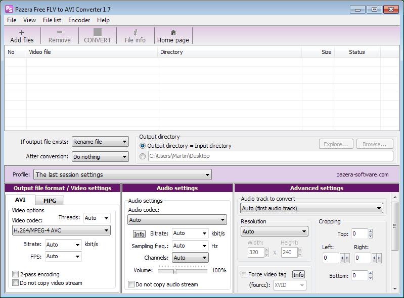 free flv video converter
