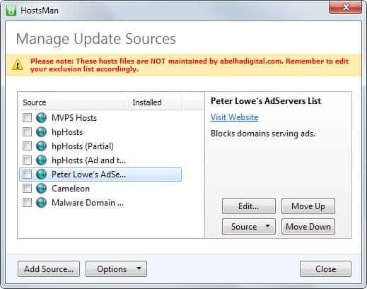 HostsMan: A Windows Hosts Manager - gHacks Tech News