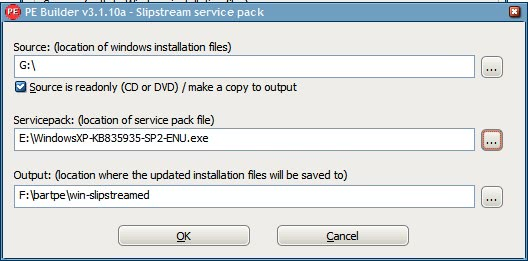 slipstream service pack 2
